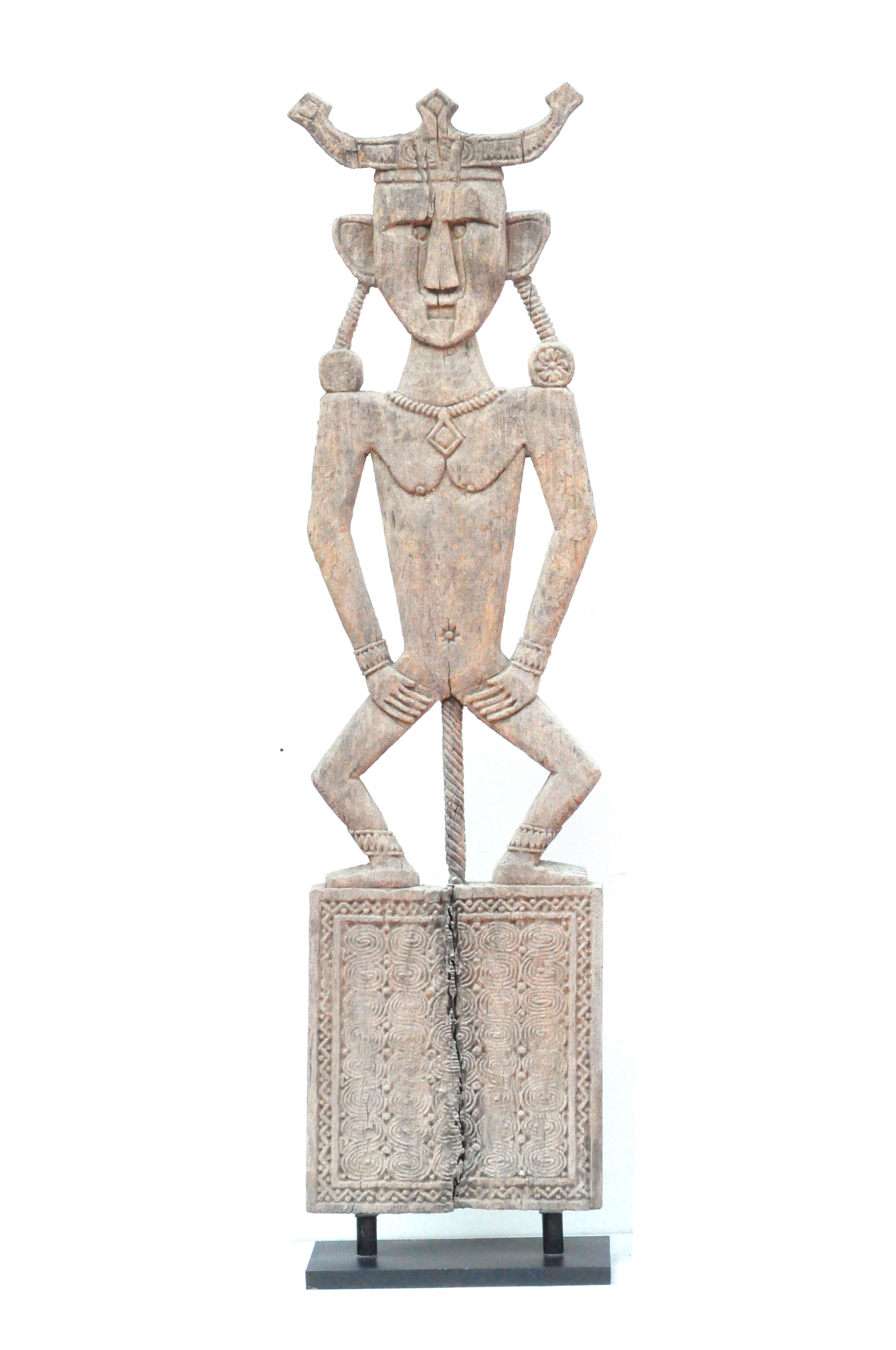 Panneau sculpté main Timor
