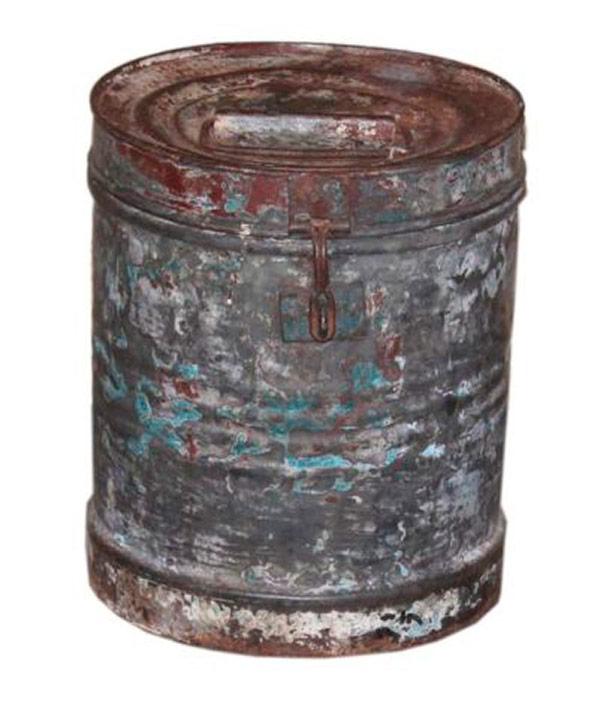 Ancienne boite en métal