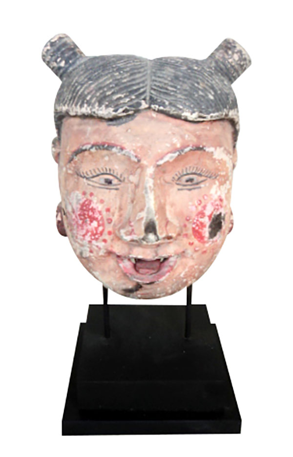 Ancienne tête de marionette