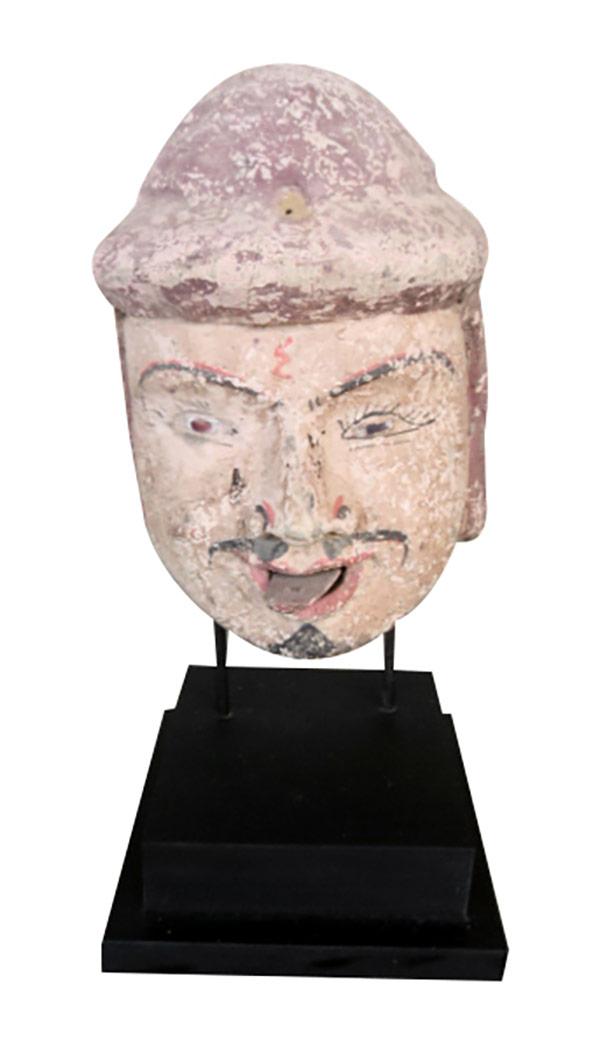 Ancienne tête de marionnette